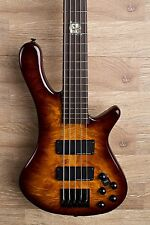 2017 Wolf S8-5 Brown Sunburst 5 String Neck Through Bass