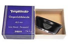 Voigtlander 310/41 40.5mm Hood  #Box 1 ........... Minty w/Box