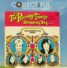 PARTRIDGE FAMILY - SHOPPING BAG - BELL 1972 - WITH BAG *EX* VINYL LP RECORD 🔥