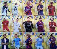 PANINI FIFA 365 2020 LIMITED RONALDO MESSI NERES RADIC TAGLIAFICO SUAREZ LUKAKU