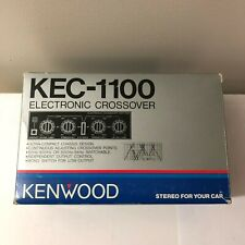 NEW RARE OLD SCHOOL VINTAGE KENWOOD KEC-1100 CAR STEREO ELECTRONIC CROSSOVER