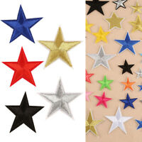 10pcs Star Embroidery Sew Iron On Patch Badge Clothing Applique Bags Shoes DIY