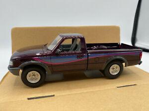 AMT Ertl 1993 Ford Ranger STX 4x4 Dark Plum Metallic Pickup Truck 1/25 Promo