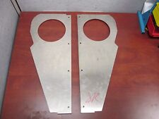 KENWORTH W900A STAINLESS AIR CLEANER PANELS KO47-877 RIGHT & LEFT K-2198-CR /CL