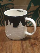 Starbucks Boston Relief Collector Series - Boston Skyline Coffee Tea Mug 16 oz