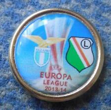 LEGIA WARSZAWA - LAZIO ROMA EUROPA LEAGUE 2013/14 FOOTBALL SOCCER PIN BADGE