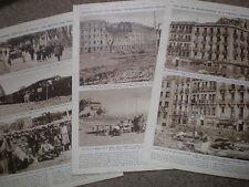 Photo article Spain civil war devastated streets of Madrid 1936 ref AZ