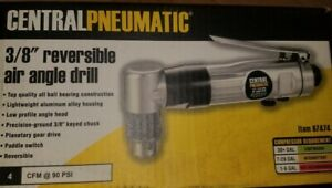 Pnumatic 3/8 In. Reversible Air Angle Drill