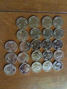 23 Tanzania 50 Senti 1990 Nickel Clad Steel coins Africa bunny rabbit coin UNC