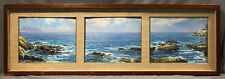Set of 3 20th Century Seascape Oil Paintings of the Ocean