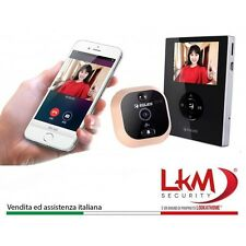 "SPIONCINO Eques R21P  Digitale Porta Display Interno da 2.8"" Camera 0.3Megapixel"
