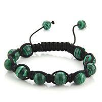 Malachite Green Bracelet Hand Woven Bracelet