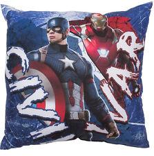 New Marvel Avengers Captain America Cushion Super Soft Pillow Boys Kids Bedroom