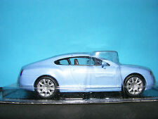 Bentley Continental in Met Blue Product in 1:43rd. Scale PREMIUM&CTCL