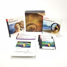 Mixed Lot Of Adobe User Guides Illustrator 10, Photoshop 7.0, And PageMaker 7.0