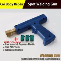 Car Dent Pulling Repair Spot Welding Gun With 3 Extra Trigger Machine Accessory