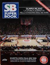 Superbasket Olimpia EA7 Milano Armani Basket Fiba Euroleague Yearbook 80 anni