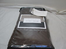 "New Liberty Procurement Hardwick Euro Pillow Sham 26""x26"" ~ Chocolate Nip"