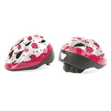 Casco Bici Bicicletta Bianco Rosa coccinelle LadyBird by ATALA bambina Tg. XS