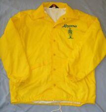 Vintage 1980's Longacres Racetrack Employee Jacket Lined WBreaker- Horse Racing