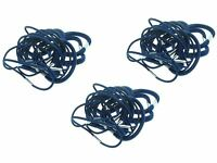 54 x Navy Blue Thick and Thin School Hair Elastic Bobbles Value Pack