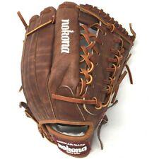 WB-1275M-Right Handed Throw Nokona Walnut Baseball Glove 12.75 Outfield