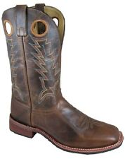 NEW! Smoky Mountain Boots - Men's Western Cowboy - Leather - Brown with Crackle