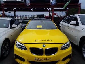 BMW 2 SERIES 2016 VEHICLE WRECKING PARTS ## V002129  ##