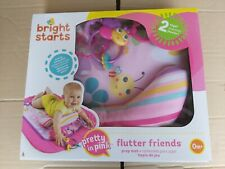 Bright Starts Flutter Friends Prop / Tummy Time  Mat. Pretty In Pink Brand New