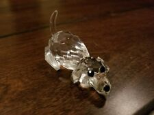 Swarovski Crystal Dog Figurine