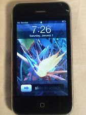 Apple 3G iPhone a1241 8GB MB046LL BLACK AT&T Working GOOD SCREEN ++++