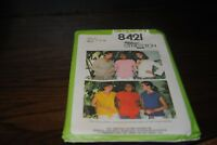 SImplicity Sewing Pattern 8421 Size O 12-14-16 Miss Pullover Tops