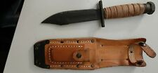 Ontario knike Jet Pilot Survival Knife 2-80 preowned used w/ sheath