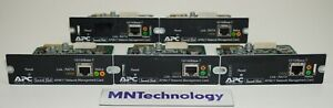 Lot of 5 - APC | AP9617 | Smart Slot Network Management Card