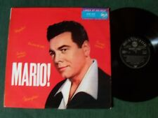 MARIO LANZA : MARIO ! Lanza at his best - LP 09/1966 French RCA 430.291