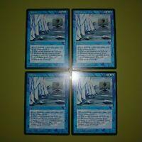 Iceberg x4 Ice Age 4x Playset Magic the Gathering MTG