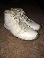 Air Jordan Retro 11 XI 25th Anniversary 2010 White Metallic Silver Men's Sz 11