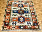Vintage Kazak Caucasian Design Rug-4806