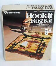 Vogart Oriental Sunset Latch Hook Kit BOX DAMAGED Vintage Hook-it Rug #4318