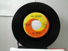 THE BEATLES-(45)- LADY MADONNA / THE INNER LIGHT - CAPITOL RECORDS - 2138 - 1968