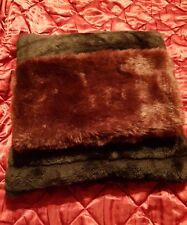 Snood Maroon/Ox Faux Fur Winter Scarf Cowl Neck Warmer Soft Snood by Atmosphere