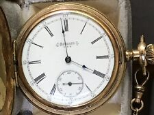 Antique Reliance Manual-Wind Pocket Watch in Hunter's Case