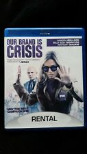 Our Brand Is Crisis (Blu-ray Disc, 2016) RENTAL VERSION Great Condition