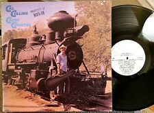 CAL COLLINS LP - CROSS COUNTRY -  Concord Jazz, 1981, NM  Solo Jazz Guitar