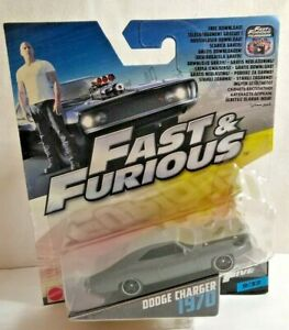 MATTEL FAST & FURIOUS FAST FIVE - 1970 DODGE CHARGER - #FCF44 - FACTORY SEALED