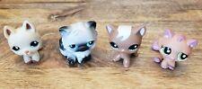 LITTLEST PET SHOP 4 PIECE LOT - CATS - SET OF 4 CATS