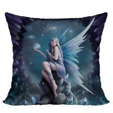 Stargazer Star Fairy Decorative Throw Pillow Cushion fantasy art Anne Stokes