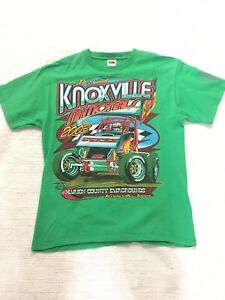 Vintage Nascar T SHIRT 2003 Knoxville Iowa Nationals Sprint Car #03