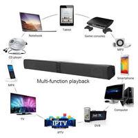 Bluetooth Wireless TV Soundbar Speaker 3D surround Sound Home Theater Subwoofer