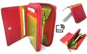 RFID Safe Golunski Graffiti Range High Quality Leather Small Purse Wallet 7-113